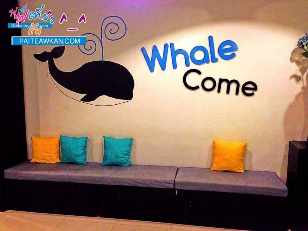 หลับสบายแบบวาฬๆ ใน โรงแรม Sleep Whale กระบี่ 1