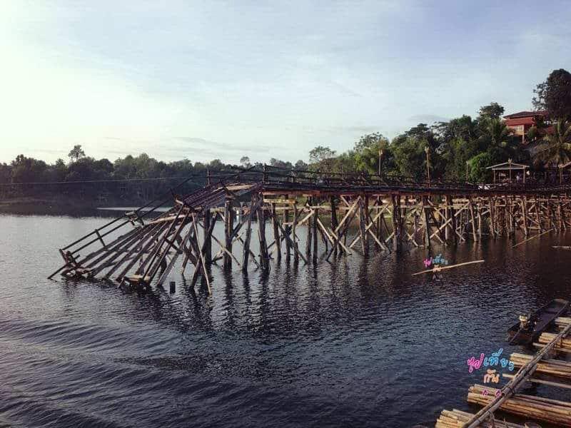สะพานมอญ เมื่อครั้งสะพานขาด