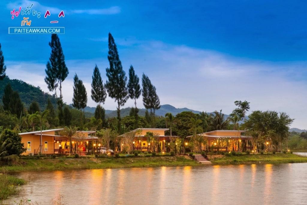 รีวิวที่พัก Lemon Chalet Kaengkrachan Resort นอนชิลริมแอ่ง ติดแก่งกระจาน 1