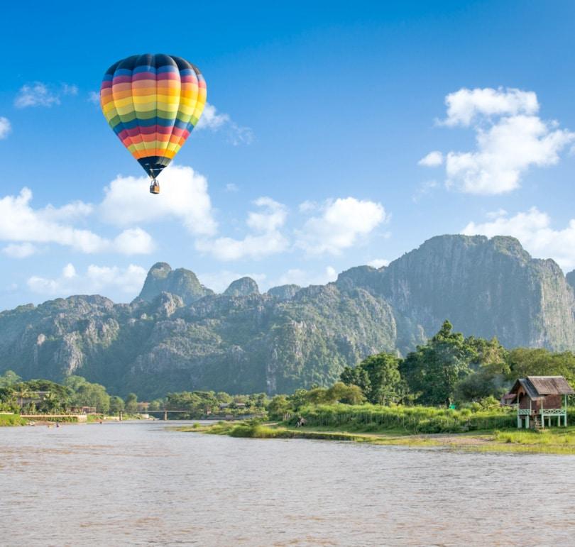 วังเวียง ประเทศลาว VangVieng - Laos