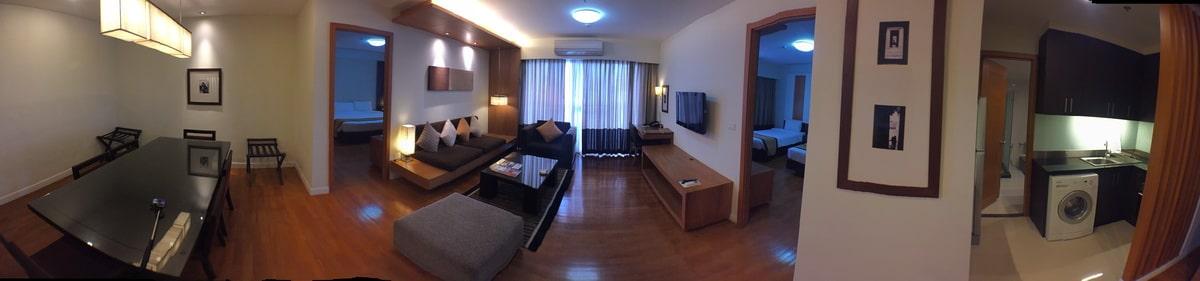 ห้อง Two Bedroom Suite - โรงแรมแคนทารี่ อยุธยา Katary Hotel