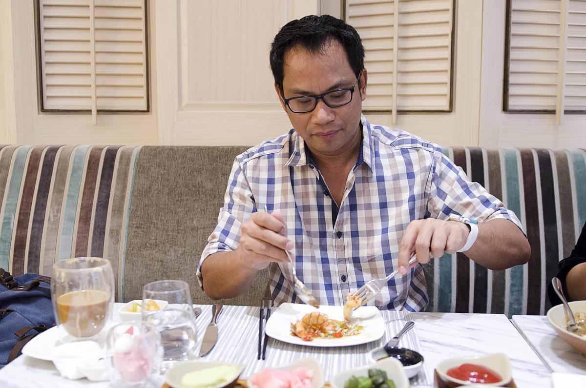 ห้องอาหาร Siam Brasserie แลงคาสเตอร์ กรุงเทพฯ มีอาหารอร่อยหลากรสชาติ 129