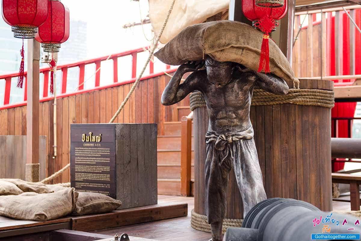 """""""เรือศรีมหาสมุทร"""" พิพิธภัณฑ์ลอยน้ำแห่งแรก ให้เข้าชมฟรี ที่ท่าเรือ ไอคอนสยาม 92"""