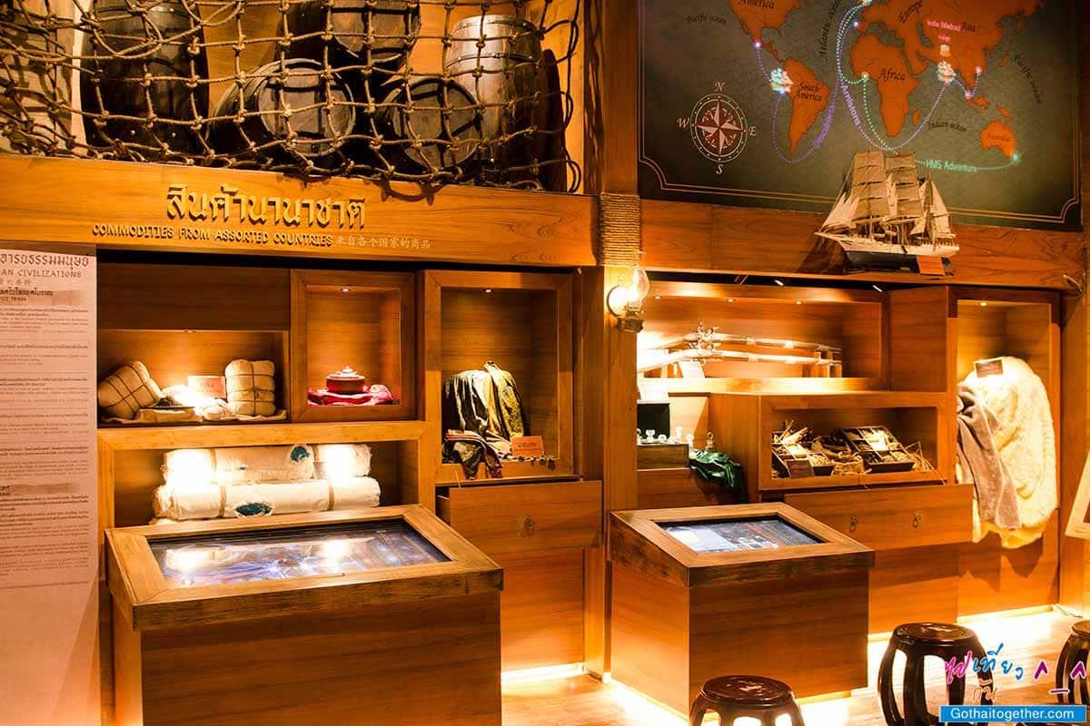 """""""เรือศรีมหาสมุทร"""" พิพิธภัณฑ์ลอยน้ำแห่งแรก ให้เข้าชมฟรี ที่ท่าเรือ ไอคอนสยาม 103"""