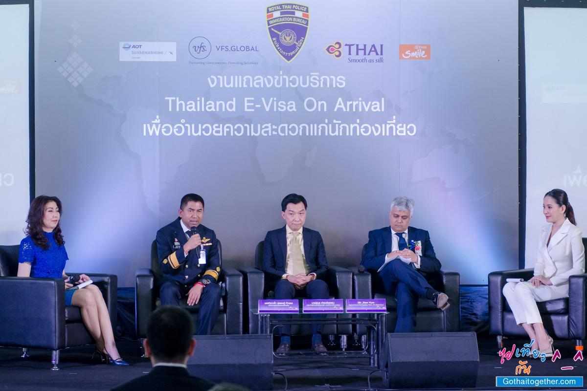เปิดตัวให้บริการ Thailand E-Visa On Arrival เพื่ออำนวยความสะดวกให้แก่นักท่องเที่ยว 20