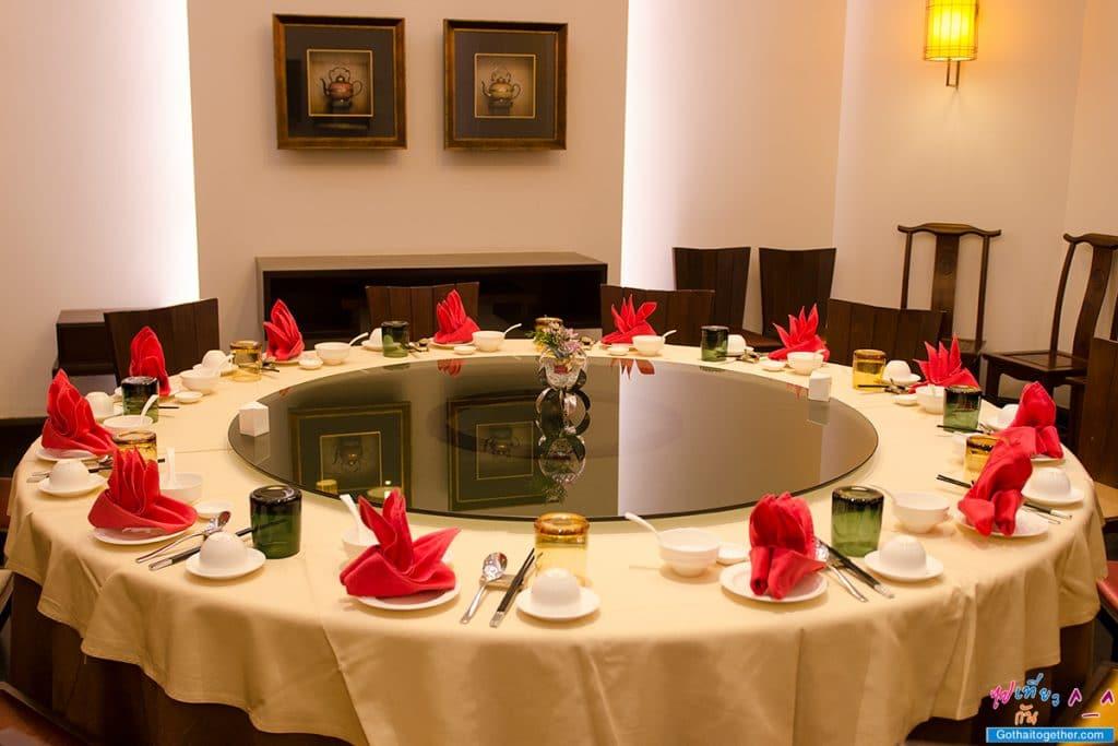 ห้องอาหารจีนแมนดาริน โรงแรมไมด้า แกรนด์ ทวารวดี นครปฐม 38