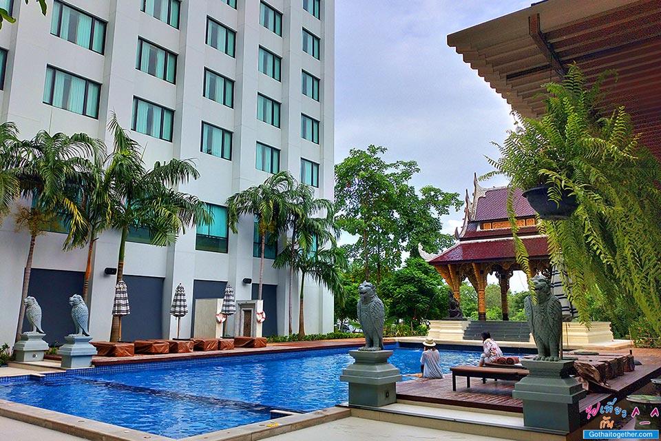 โรงแรม ไมด้าแกรนด์ ทวารวดี นครปฐม 81