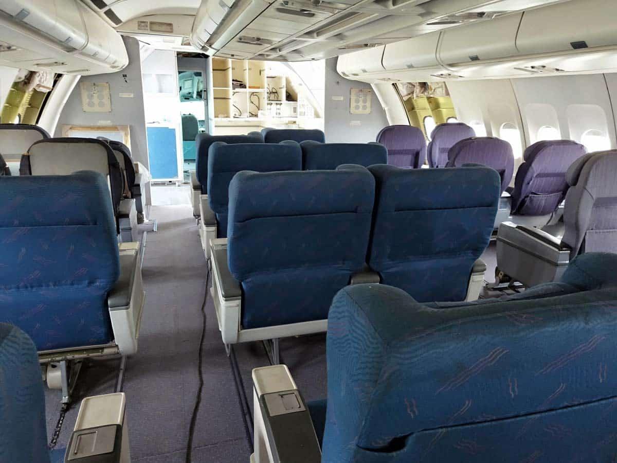 เครื่องบินที่ Airways Land ร้านกาแฟโคราช