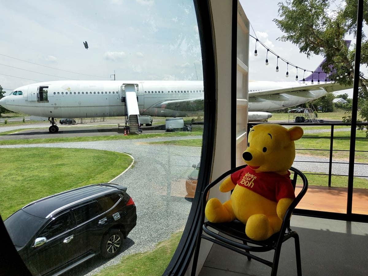 Airways Land จิบกาแฟที่โคราช ดูเครื่องบินแท้ๆ ไม่ต้องไปสนามบิน 16