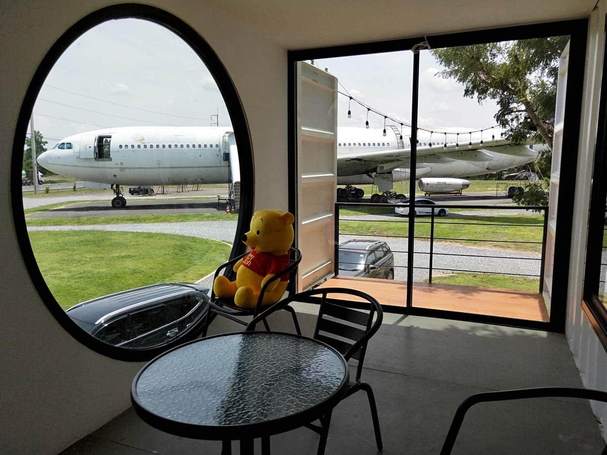 โซนอาคารผู้โดยสาร Airways Land Cafe