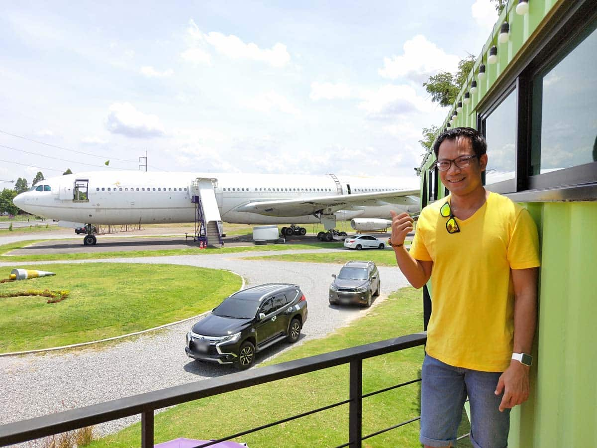 Airways Land จิบกาแฟที่โคราช ดูเครื่องบินแท้ๆ ไม่ต้องไปสนามบิน 17