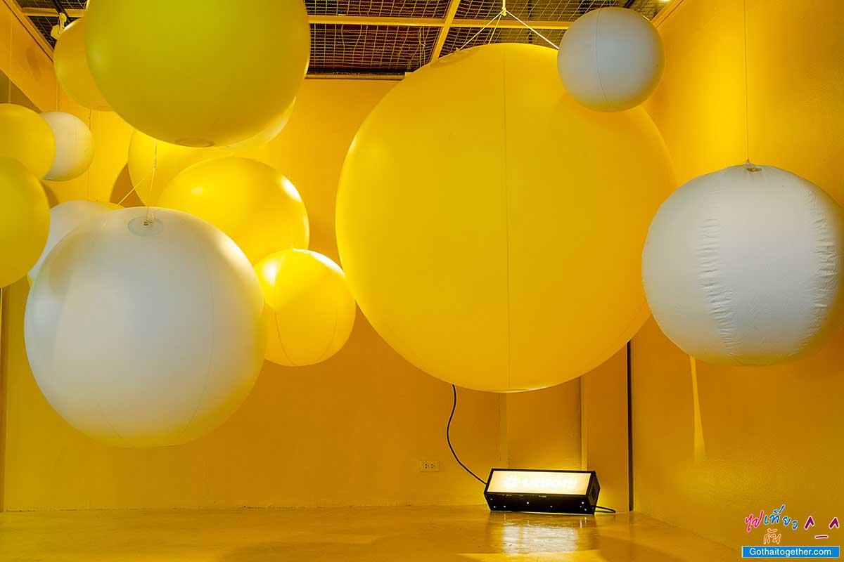 ห้องสีเหลือง ห้อง 5 สี ยูเนี่ยนมอลล์