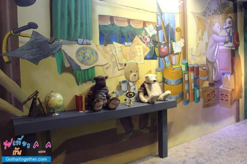 รีวิว Teddy Bear Museum เมืองหมีที่ พัทยา 21