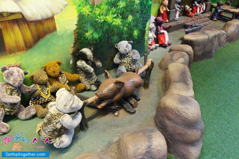 รีวิว Teddy Bear Museum เมืองหมีที่ พัทยา 73